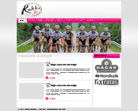 Website for Rakke Sportsclub